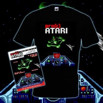 PRO(C) ATARI - Ausgabe 14 Softcover-Buch Edition + T-Shirt Bundle Größe XL
