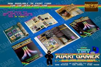 ATARI GAMER Limited Edition, pro-printed