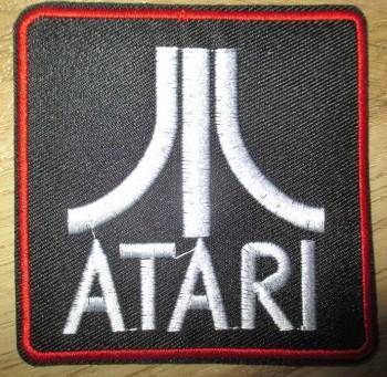 Atari Logo Aufnäher / Aufbügler