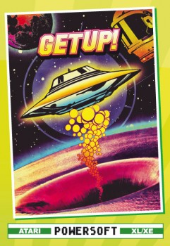 GET UP! Boxed Edition (Spiel: Atari XL/XE, Format: Diskette)