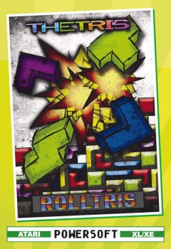 THETRIS / ROLLTRIS Boxed Edition (Game, System: Atari XL/XE, Format: Disk)
