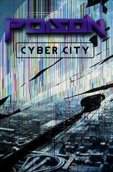 POISON - Cyber City MC / Musik-Kassette (Atari XL/XE Music)