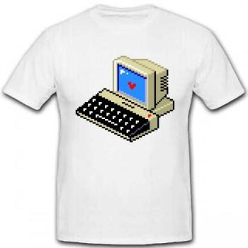 PIXEL-COMPUTER T-Shirt Größe XL